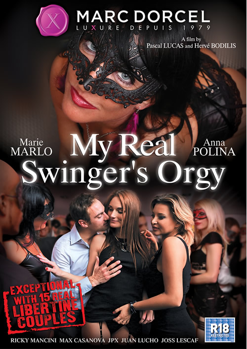 My Real Swinger's Orgy – Marc Dorcel