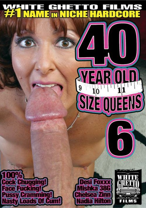 40 Year Old Size Queens #6 – White Ghetto