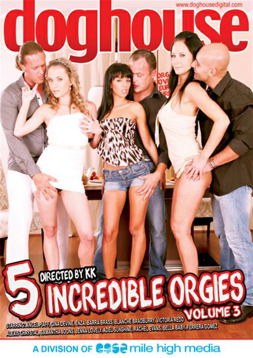 5 Incredible Orgies #3 – Dog House