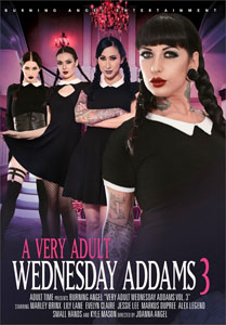 A Very Adult Wednesday Addams #3 – Burning Angel