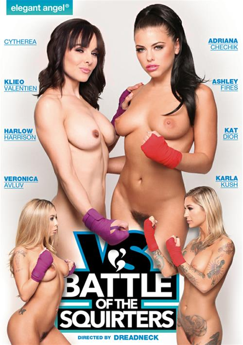 Battle Of The Squirters – Elegant Angel