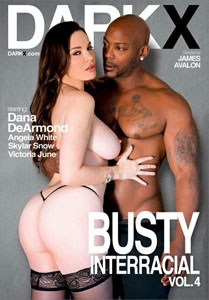 Busty Interracial #4 – Dark X