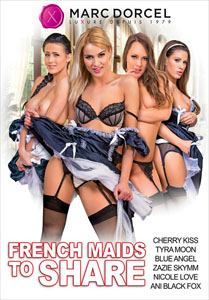 French Maids To Share – Marc Dorcel