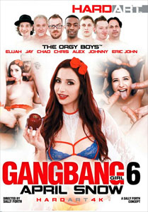 Gangbang Girl #6: April Snow – Hard Art