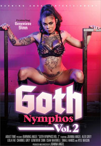 Goth Nymphos #2 – Burning Angel
