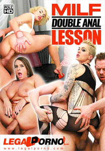 MILF Double Anal Lesson – Legal Porno