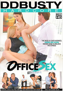 Office Sex – DD Busty