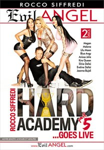 Rocco Siffredi Hard Academy #5 . . . Goes Live – Evil Angel