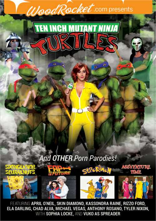Ten Inch Mutant Ninja Turtles & Other Porn Parodies – Wood Rocket