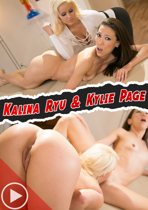 Training My Masseuse (Kalina Ryu & Kylie Page) – Fantasy Massage